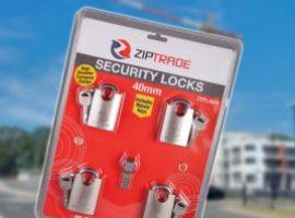 40mm ZIPTRADE Security Padlock Set