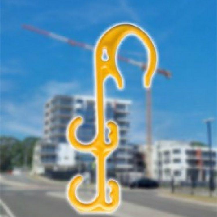 ZIPTRADE Electrical Lead Hook (5 Pack)