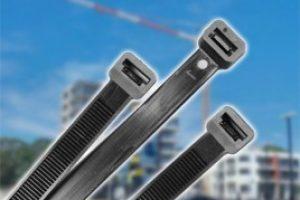 ANWAL 100mm x 2.5mm Black Cable Ties (20Pk)