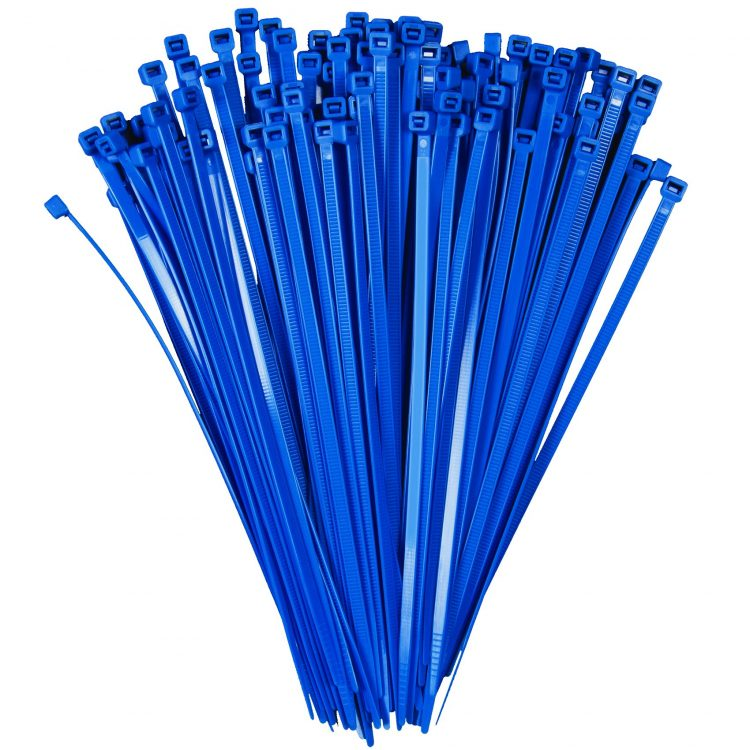 BLUE NYLON CABLE TIES