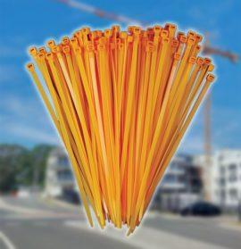 Orange Nylon Cable Ties