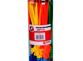 Mixed Colour Cable Tie Hanging Pack, 200 & 300mm