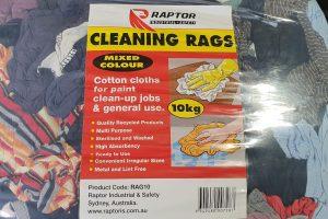 Raptor Rags – 10Kg Mixed Colour Cotton T-Shirt