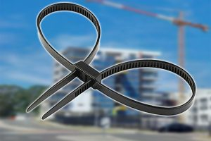 Raptor Handcuff Style Cable Ties 500mm x 12mm (20Pk)