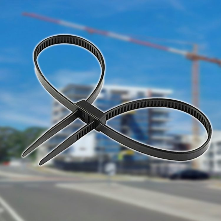 Raptor Handcuff Style Cable Ties 700mm x 12mm (20Pk)